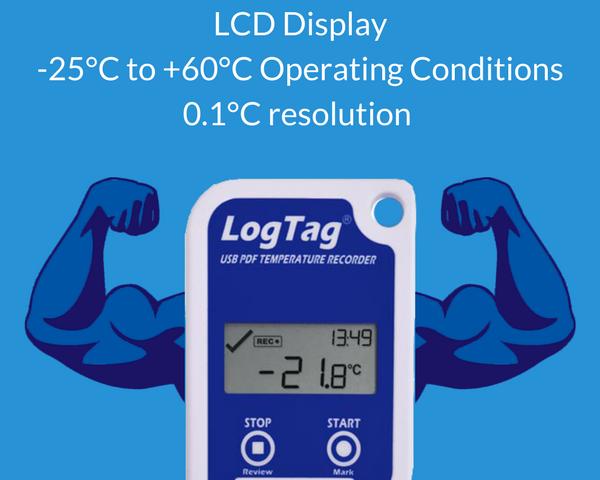 LogTag UTRID-16 data logger