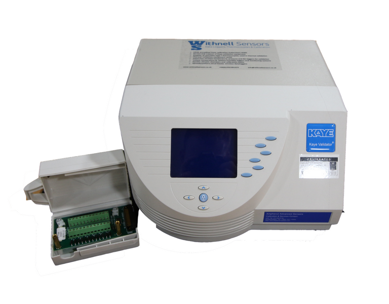 data loggers for sterilisers, autoclave validation equipment